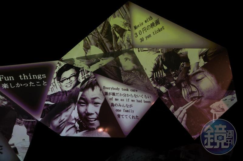 「軍艦島數位博物館」營造的影像魅力很強,如同重回端島的往日歲月。