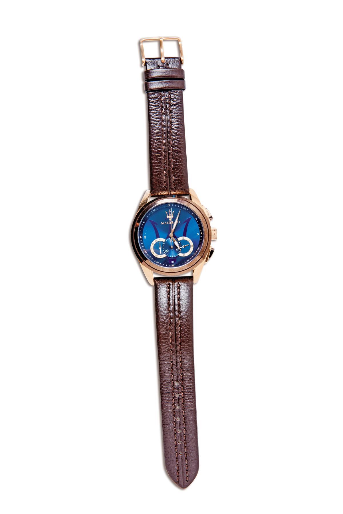 MASERATI手錶,粉絲贈送的禮物。