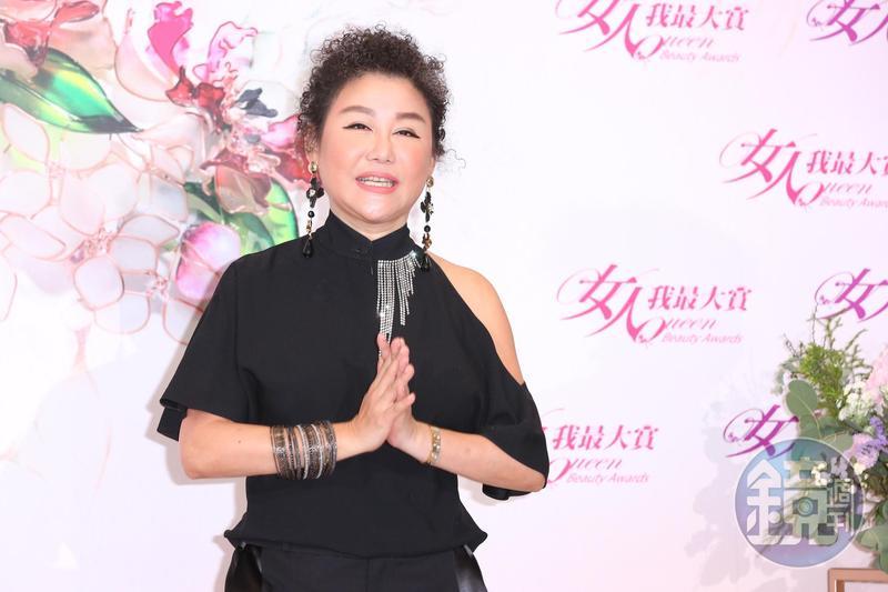 藍心湄是TVBS《女人我最大》主持人與餐飲界女王,外界估其身家超過15億,是演藝圈頂級富婆無誤。