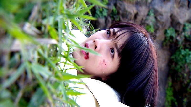 韓瑜在三立《金家好媳婦》中楚楚可憐的模樣深受網友喜愛。(三立提供)