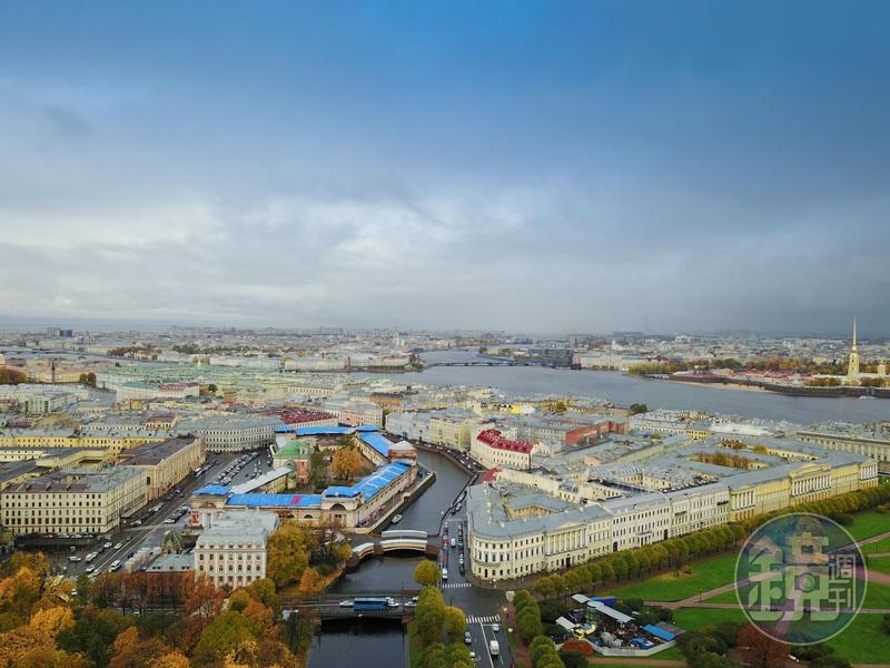 俄羅斯空拍景象。