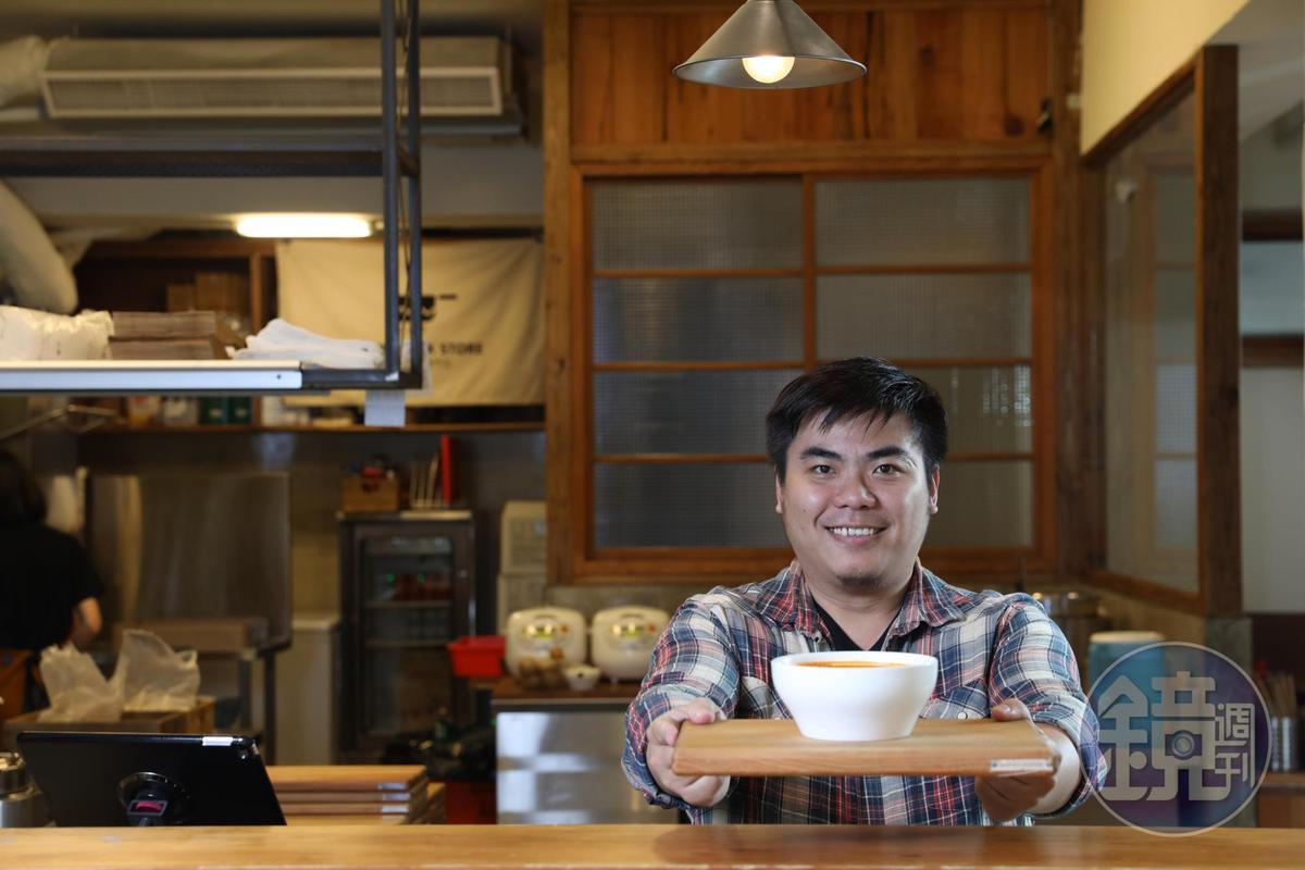 學義大利菜出身的王國維,讓湯從餐桌配角變主角。