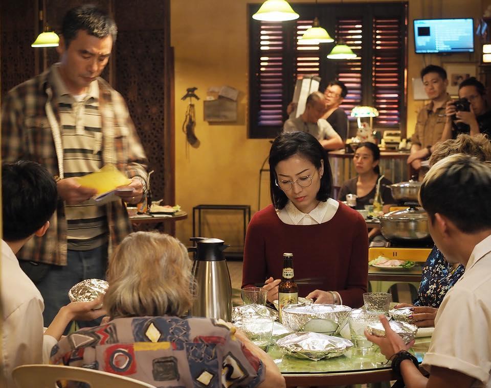 電影《花椒之味》正式開拍,一眾演員齊出度開鏡儀式。(寰亞電影提供)