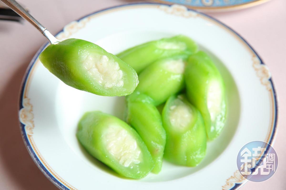 如此肥美的「澎湖絲瓜」,足以印證選料之挑剔。(250元/份)