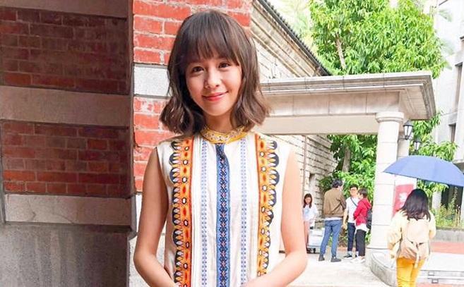 黃姵嘉在客家電視新戲《台北歌手》中,一人分飾四角,是個人新挑戰。(黃姵嘉臉書)