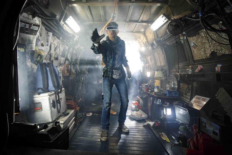 史蒂芬史匹柏以《一級玩家》告訴了我們院線電影之所以存在的原因。(華納兄弟提供)