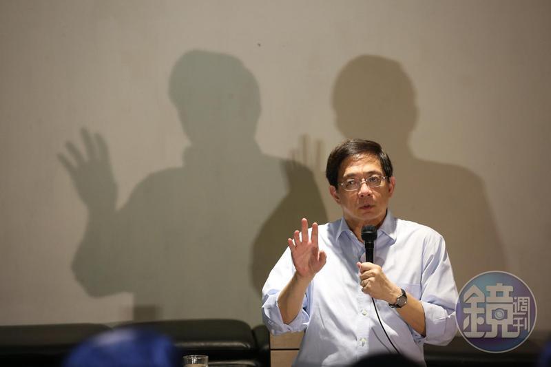 台大校長當選人管中閔發表聲明,表示將會堅持到底。