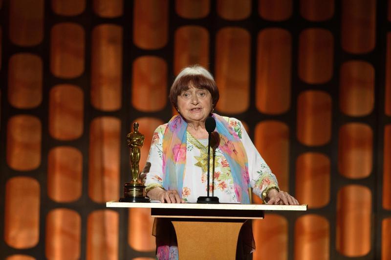 法國資深導演安妮華達獲頒今年奧斯卡終身成就獎,她稱那是安慰獎。(東方IC)
