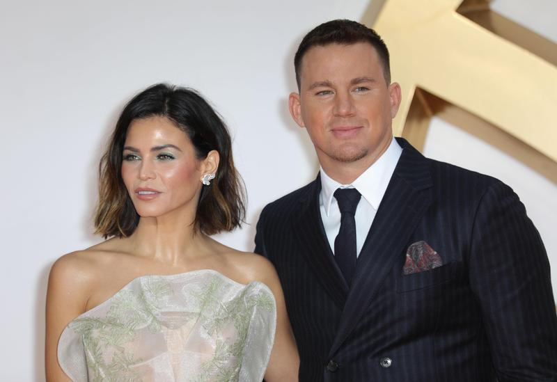 查寧塔圖去年9月還與珍娜一起出席《金牌特務:機密對決》的電影首映,沒想到僅隔半年就爆婚變。(東方IC)