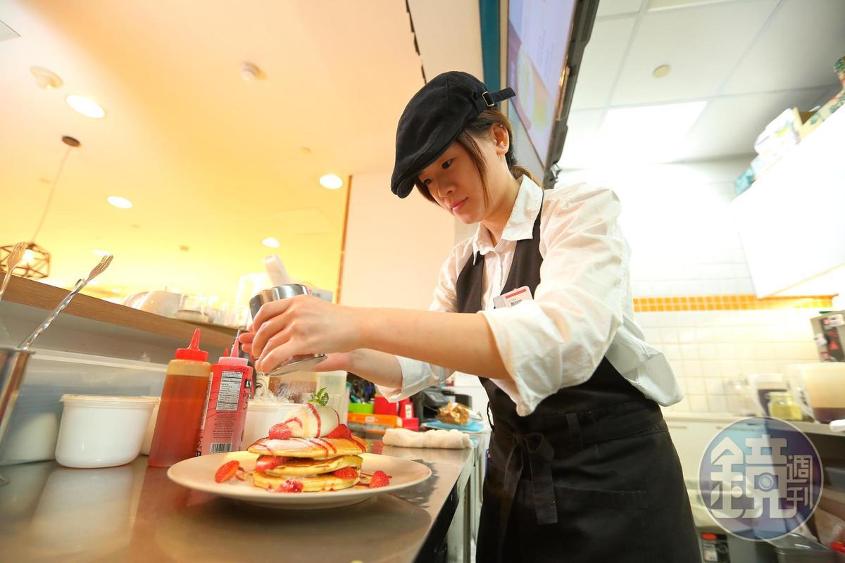 熊牧場日式洋食餐點多為現點現做,甜點部分可利用中央廚房綜效,使餐點內容更豐富多元。