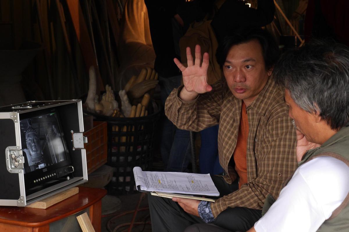 導演黃信堯(圖)因拍攝短片《大佛》獲得拍電影《大佛普拉斯》的機會。(高雄市電影館提供)