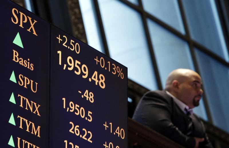 標普500指數以美國市值前500大公司編製而成,相對道瓊的30檔成分股,較為客觀。(東方IC)