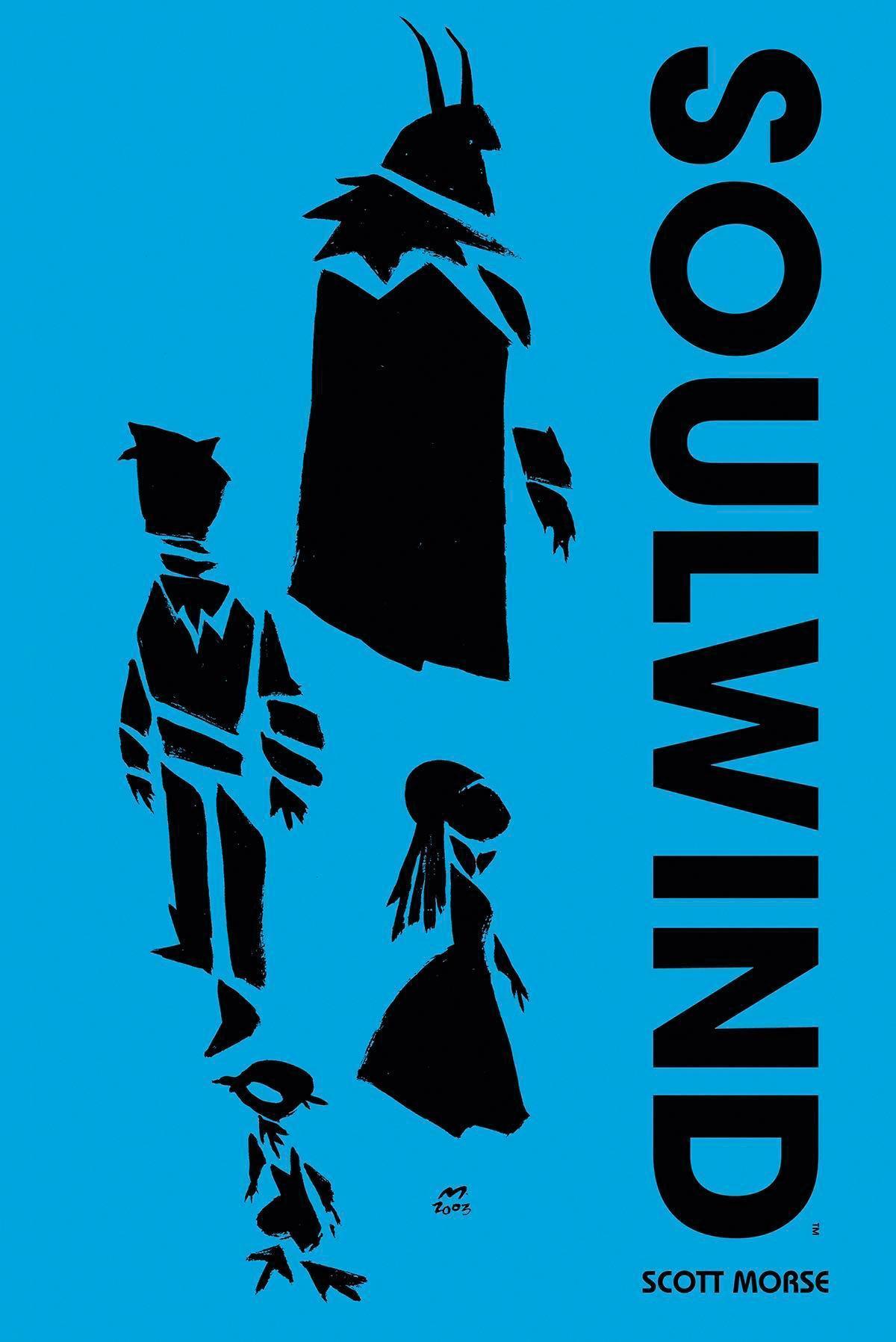 《SOULWIND》是史考特莫斯的圖文書,曾入圍有美國漫畫界奧斯卡之稱的「艾斯納獎Eisner Awards」。(翻攝自Freshcomics.com)