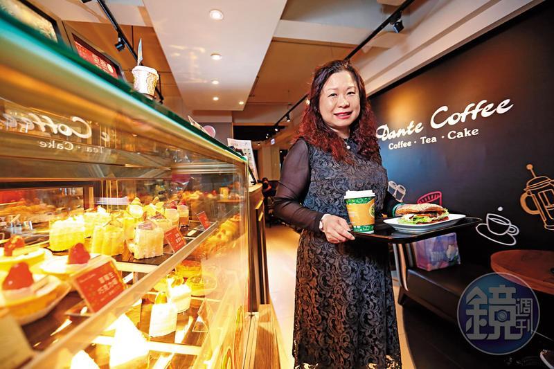 方淑宜25年前為兼顧家庭,砸600萬元嫁妝創立丹堤咖啡。