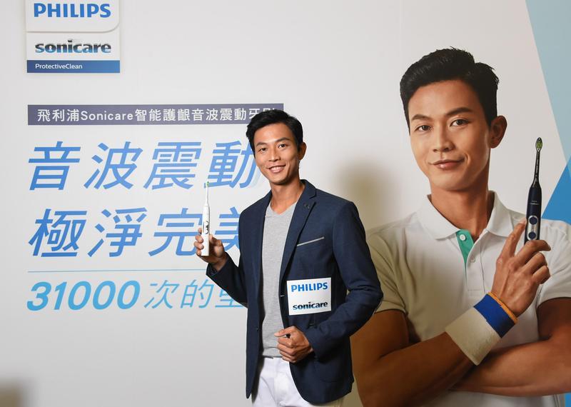 盧彥勳曾因為一次無預警的急性牙髓發炎,使得他不得不放棄尼泊爾挑戰賽返回台灣治療。(飛利浦提供)