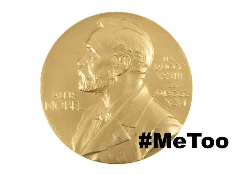 負責甄選與頒發年度諾貝爾文學獎的瑞典學院,陷入#MeToo性醜聞徇私的爭議。