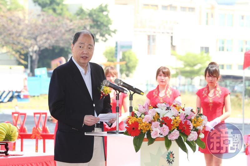 張虔生說,日月光是最早在A股掛牌的台灣企業。