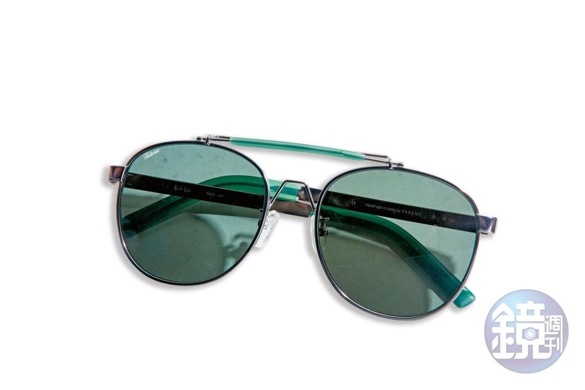 Fakeme墨鏡,約NT$10,000。