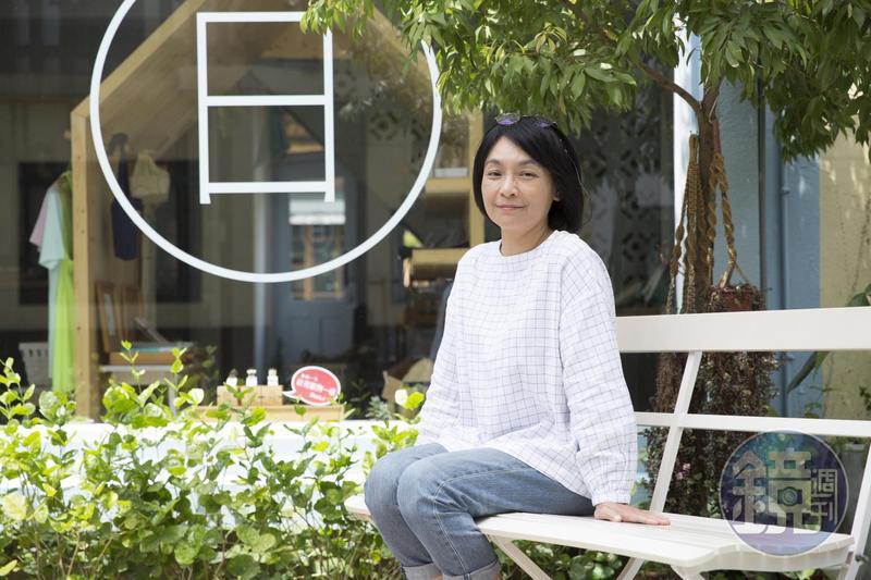 圖文作家徐玫怡3年前帶著兒子返台定居,並在台南開了一家小店。