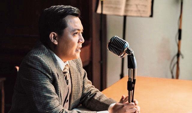 欲擺脫欠債困境,高盟傑近日於新戲《台北歌手呂赫若》中演出。(客家電視台提供)