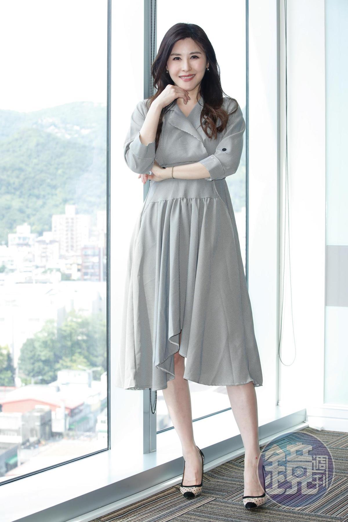 穆熙妍透露與老公的相處方式就是「不勉強」。