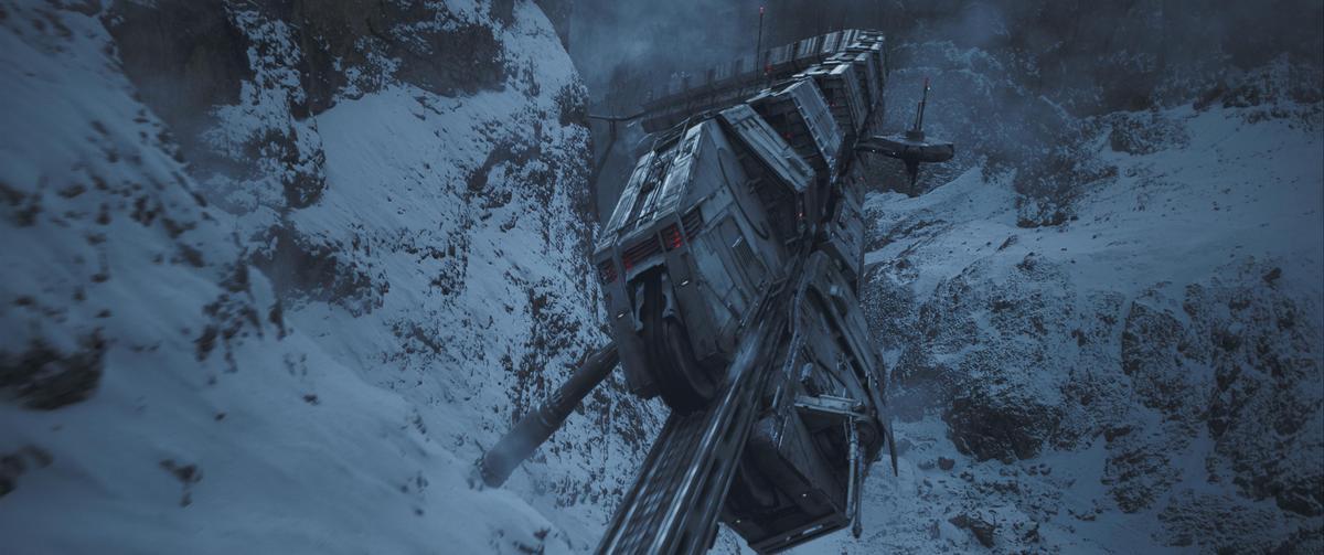《星際大戰外傳:韓索羅》同樣有氣勢磅礡的空戰。(迪士尼提供)