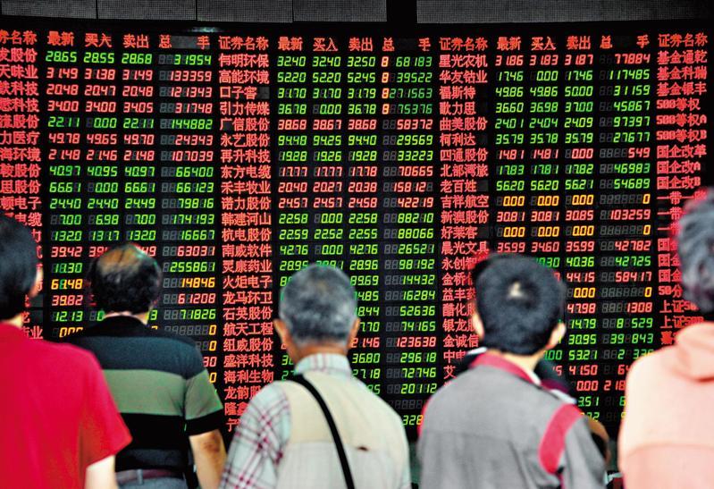 中國A股因貿易戰傳出災情,但若前瞻MSCI題材,下跌反倒是進場好時機。(東方IC)