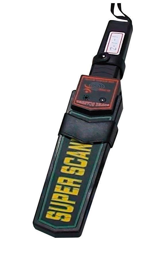 莊嫌等人還自備金屬探測器,模擬海關查緝。(警方提供)