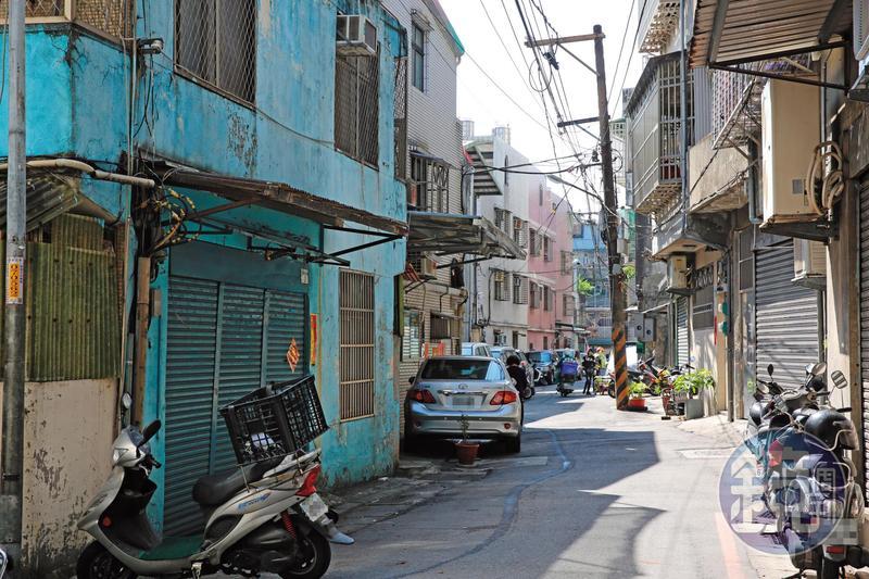 大台北之狼挑選在中和一帶的老舊公寓作案。(此非出事地點)