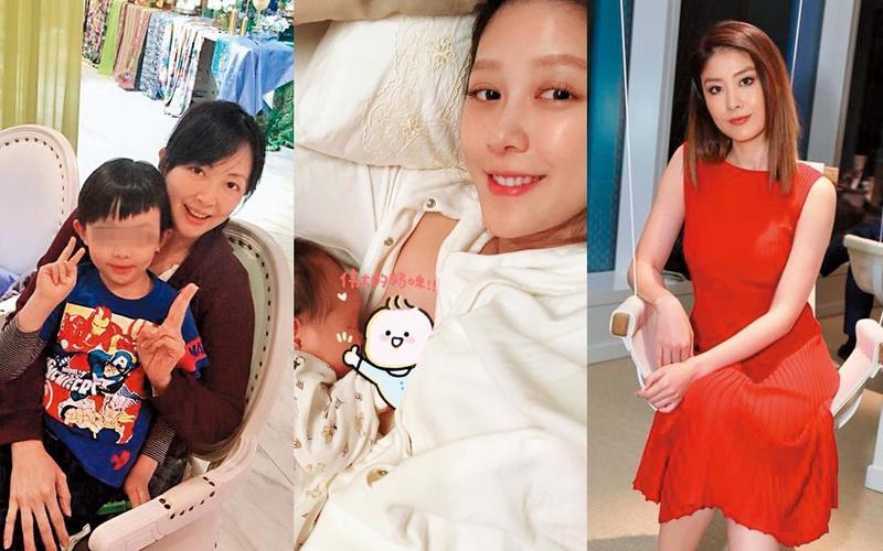 郭昱晴、嚴立婷和陳慧琳都是忍著痛苦生baby。