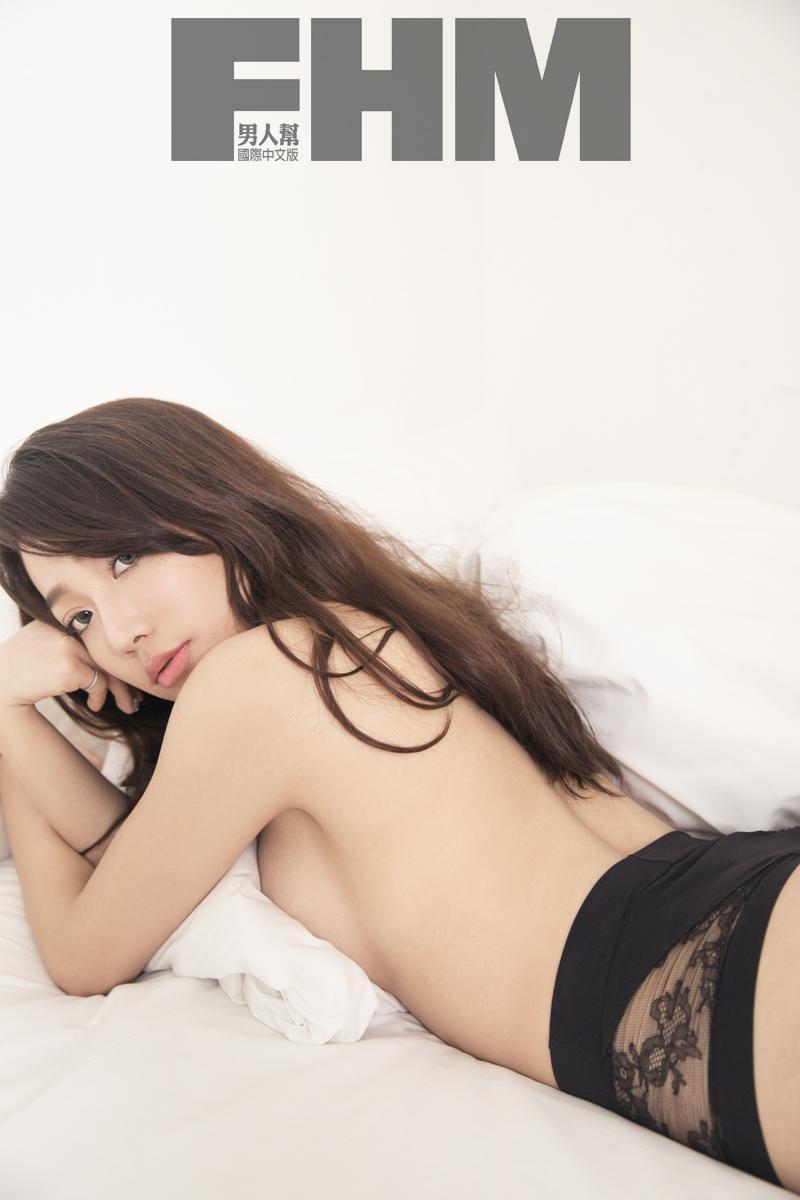 依依上圍豐滿,也不排斥接拍尺度較大的性感角色。(FHM提供)