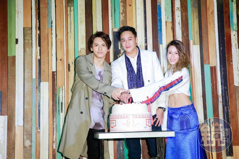 何潤東歡度出道20週年,宣佈成立經紀公司、簽下電視劇《翻牆的記憶》片頭片尾曲演唱人Morrison與陳欣斈。