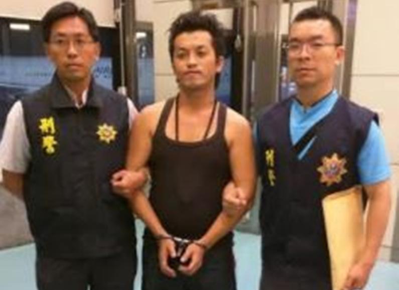 34歲男子劉孝賢15年前在桃園性侵4名女子,遭判刑19年11個月卻潛逃國外。(刑事局提供)