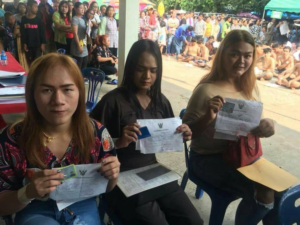 泰國軍方依身體性徵狀況,試情況給予變性人免役。(翻攝自網路)