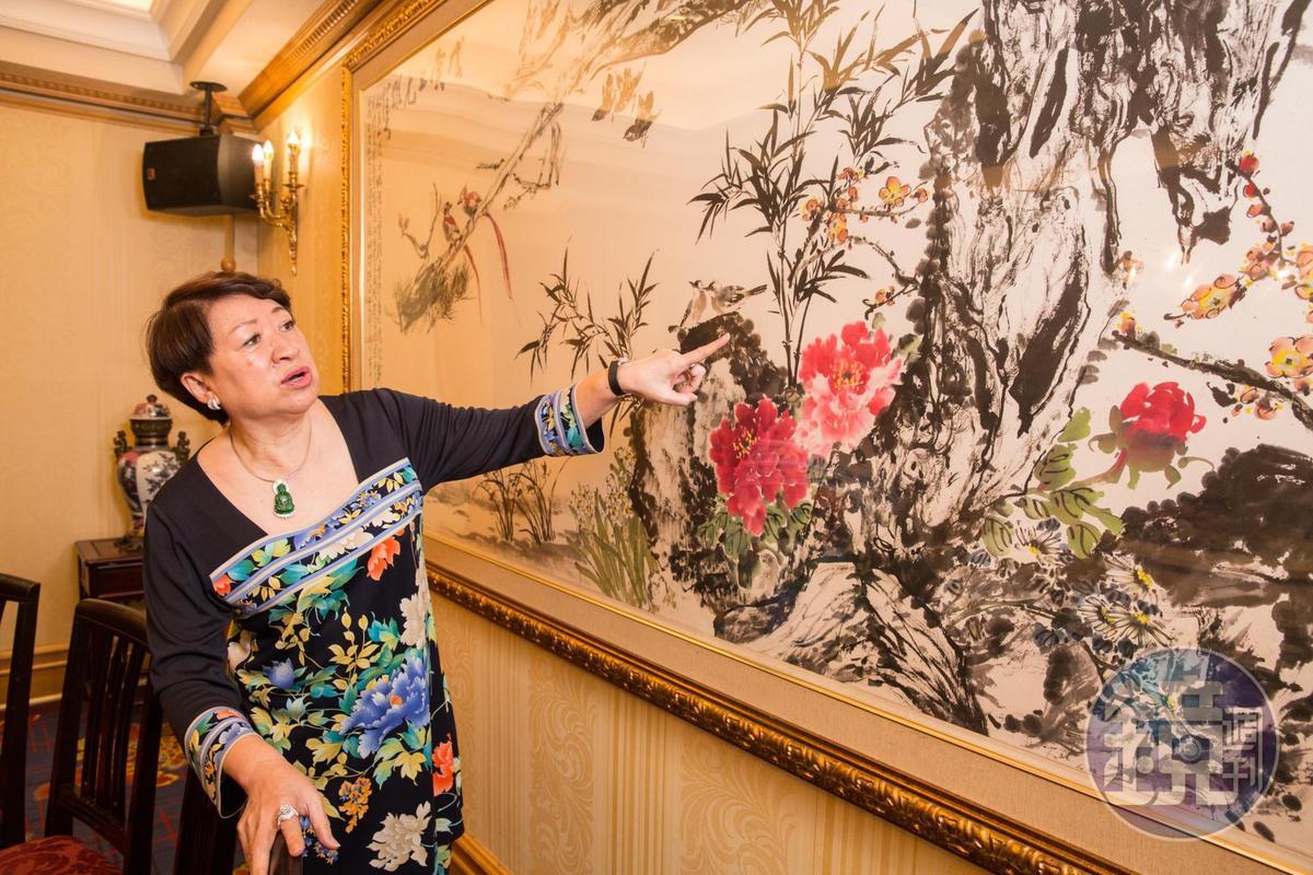 集結林玉山、王南雄、陳丹誠等水墨畫家合力創作,成為別具紀念價值的收藏品。