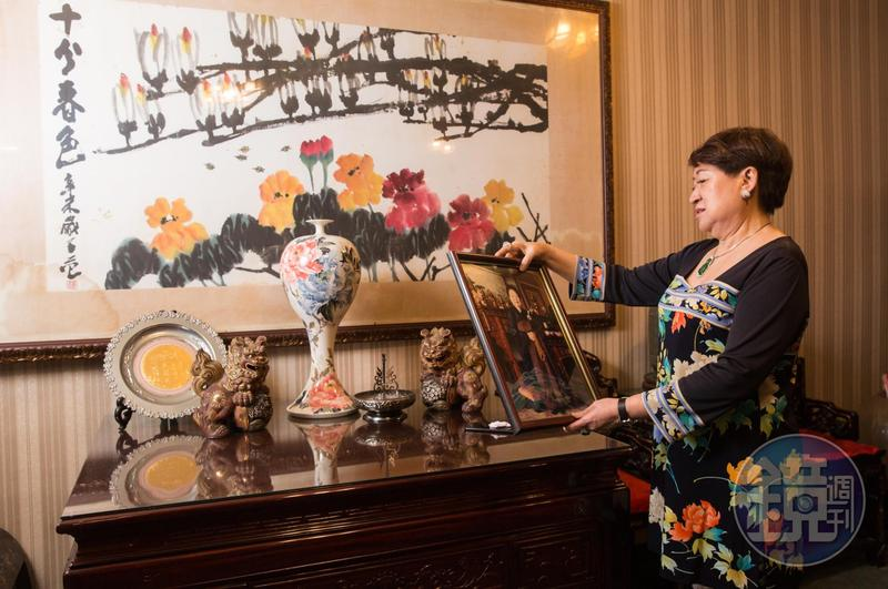 邱靜惠與婆婆朝夕相處48年,許多往事湧上心頭。