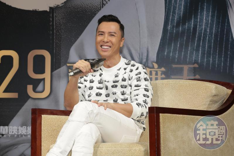 甄子丹確認將演出迪士尼2020年推出的真人電影《花木蘭》,演出女主角劉亦菲的師父。