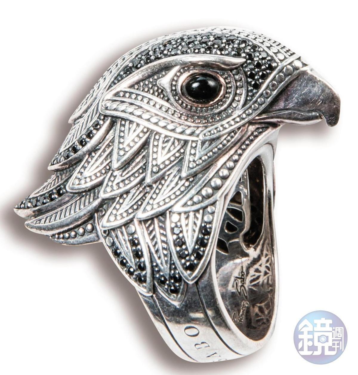 Thomas Sabo老鷹造型戒指,約NT$9,000。