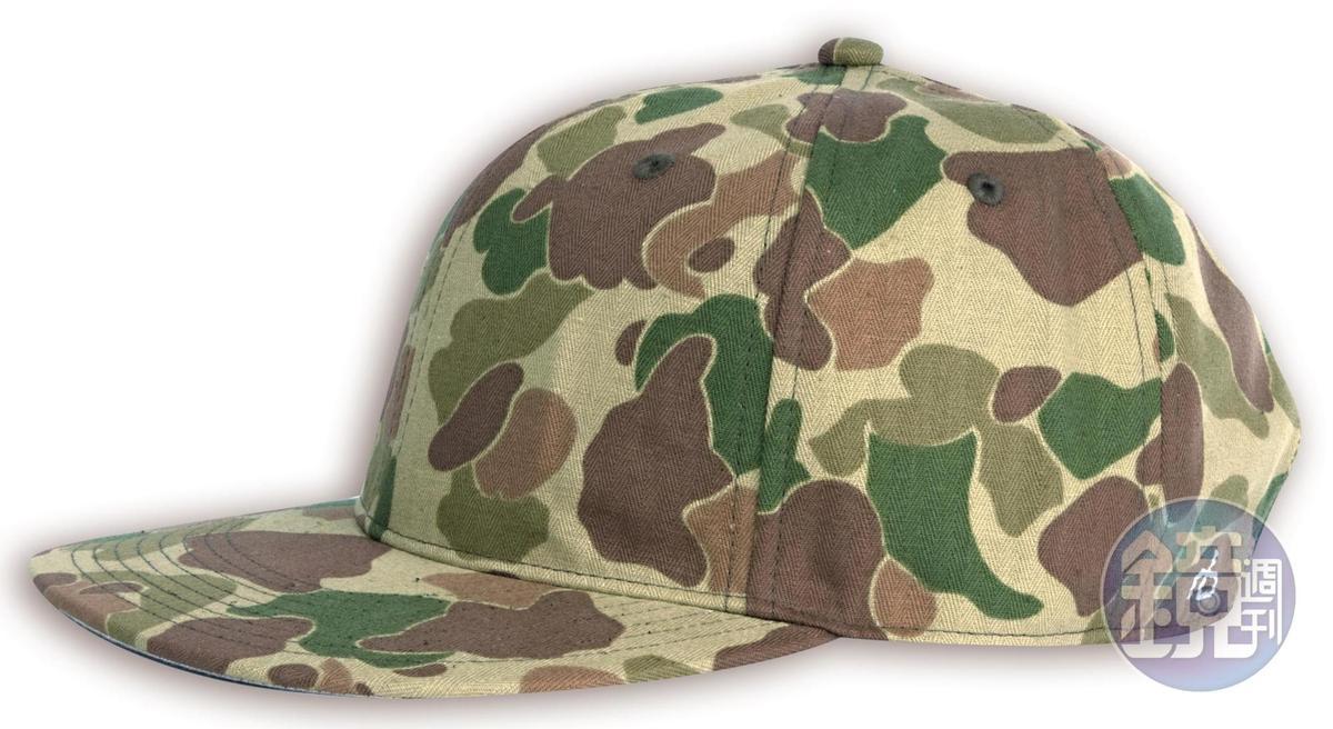 rag&bone軍綠迷彩Dylan棒球帽,NT$5,000。