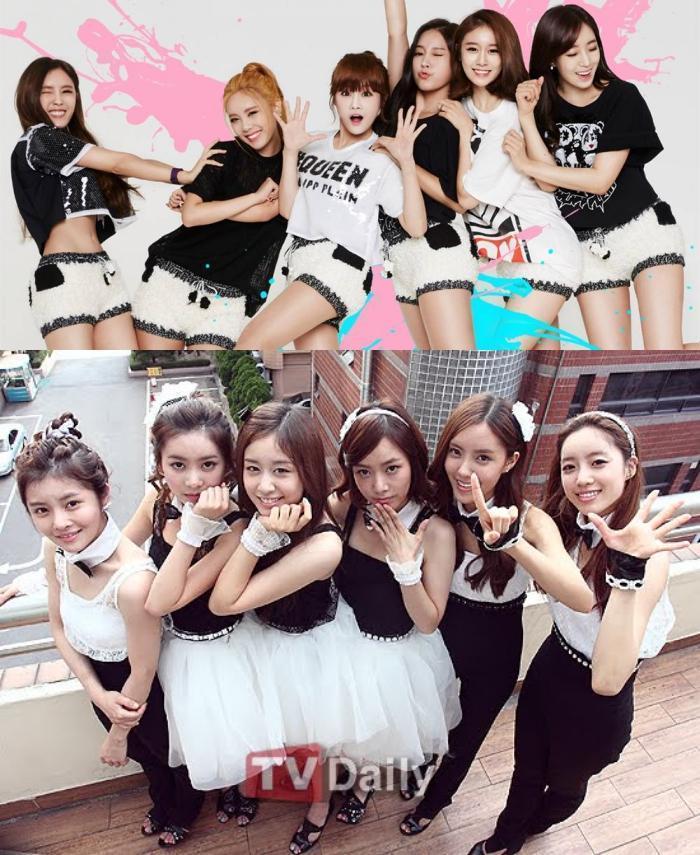 T-ara傳出全員整型,下圖是2009年出道時的模樣,比對上圖2017年團體照,是不是有差。(網路圖片)