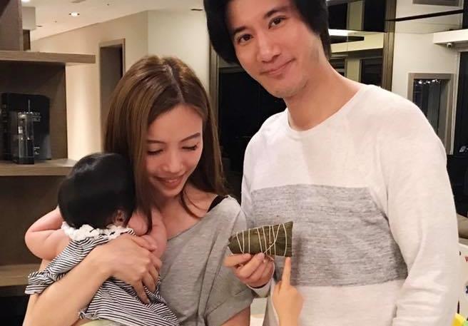 王力宏和老婆李靚蕾育有2女,即將迎來第3胎小男生。(翻攝自王力宏臉書)