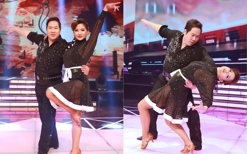 劉爾金跳國標舞有專業水準,為了這次表演,還瘦了兩公斤。(民視提供)