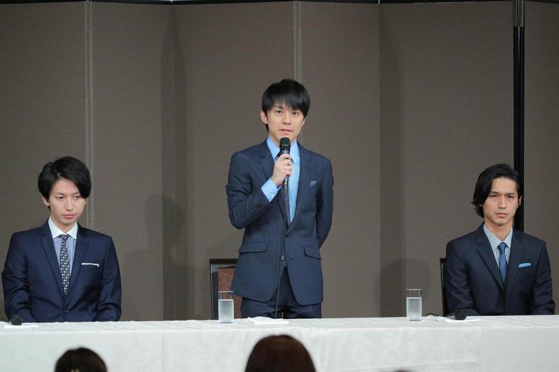 日本傑尼斯男團關8主唱澀谷昴開記者會,正式宣布退團。(翻攝自網路)