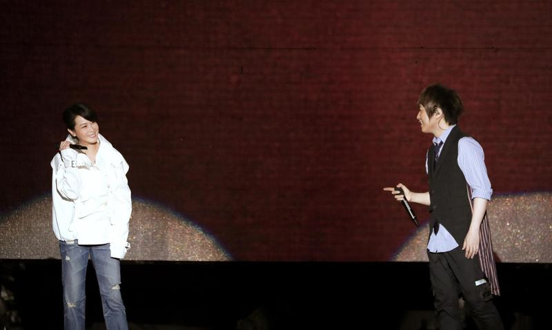 劉若英到五月天演唱會當嘉賓,直呼有回家的感覺。(相信音樂提供)