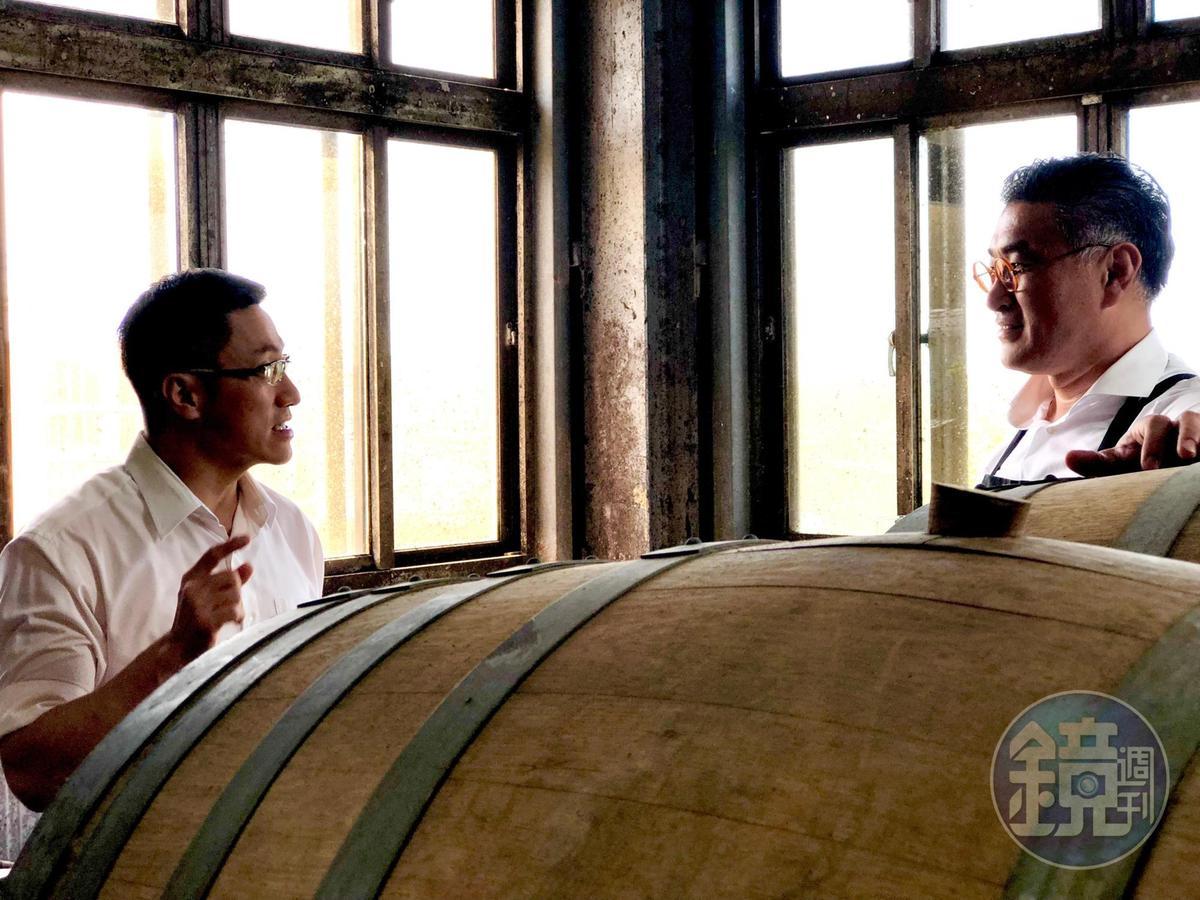 James與陳千浩對於用酒將台灣風土推向世界的概念一拍即合。