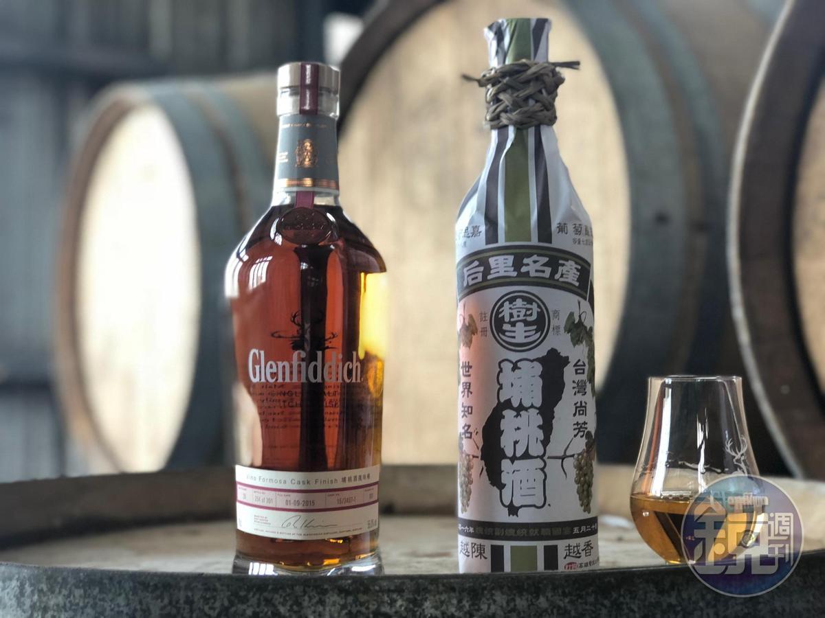 歷經5年,格蘭菲迪與樹生埔桃酒終於合作成功。
