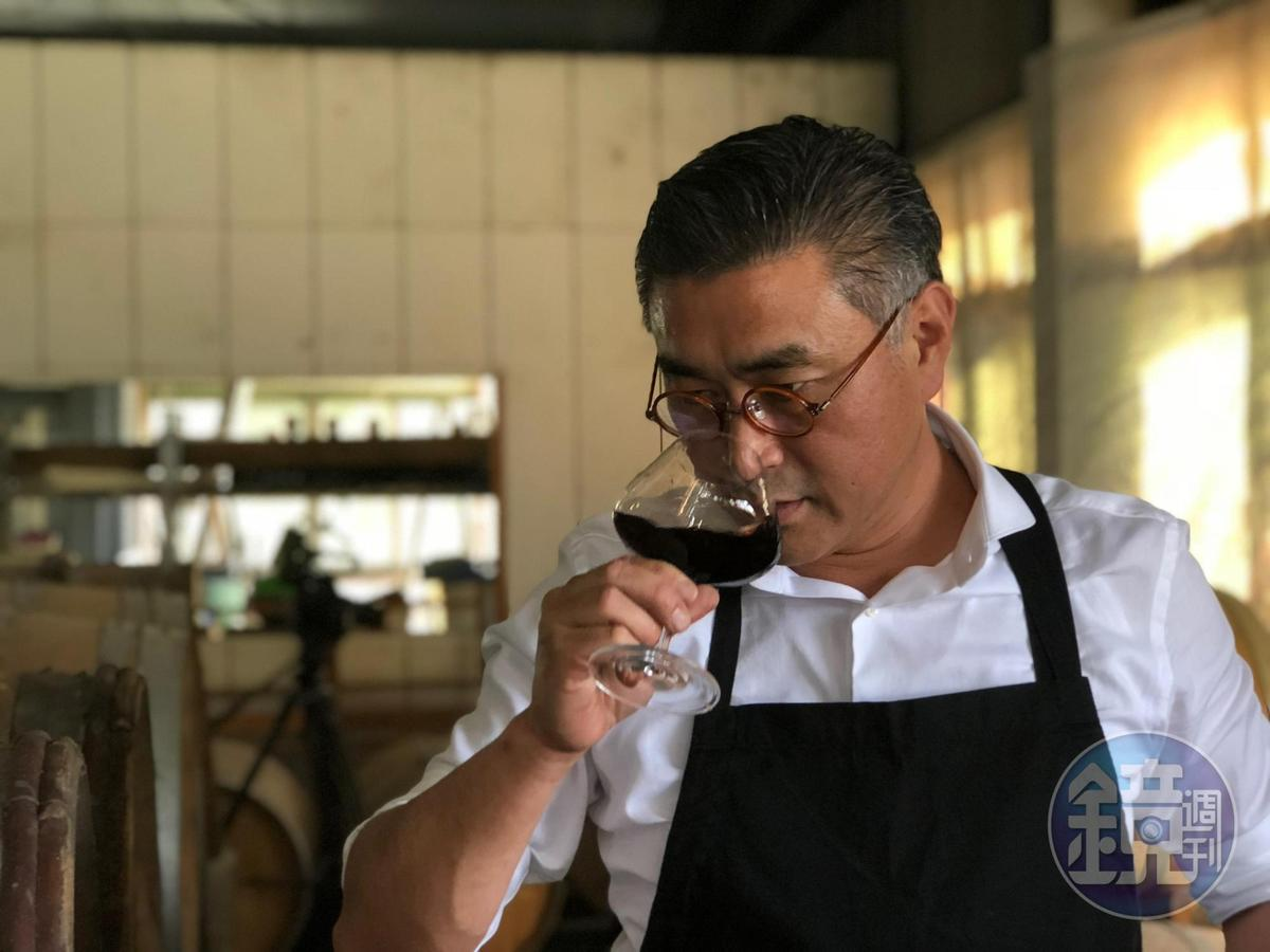 紅埔桃酒為陳千浩又一力作,也已送桶至格蘭菲迪總部做風味實驗。