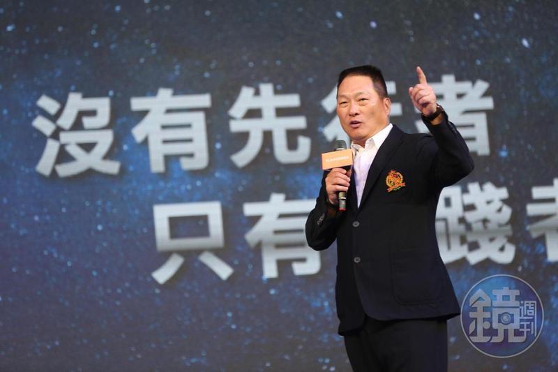 王令麟喊出,東森不單在電視購物、網路要做到第一,殺入一年規格900億元的直銷產業,也要做第一名。