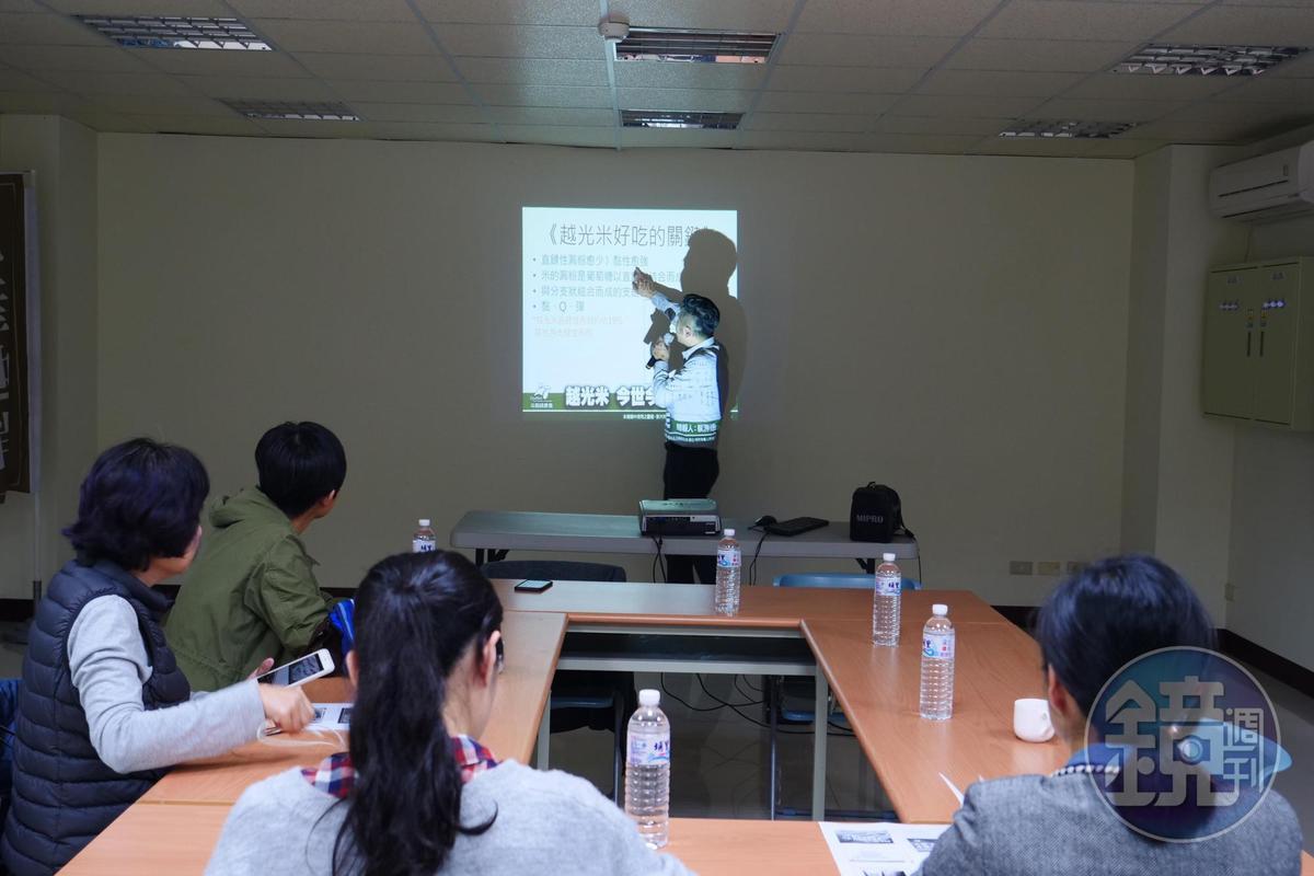 斗南農會契作農田協助農友,也致力提升稻米產業規格。