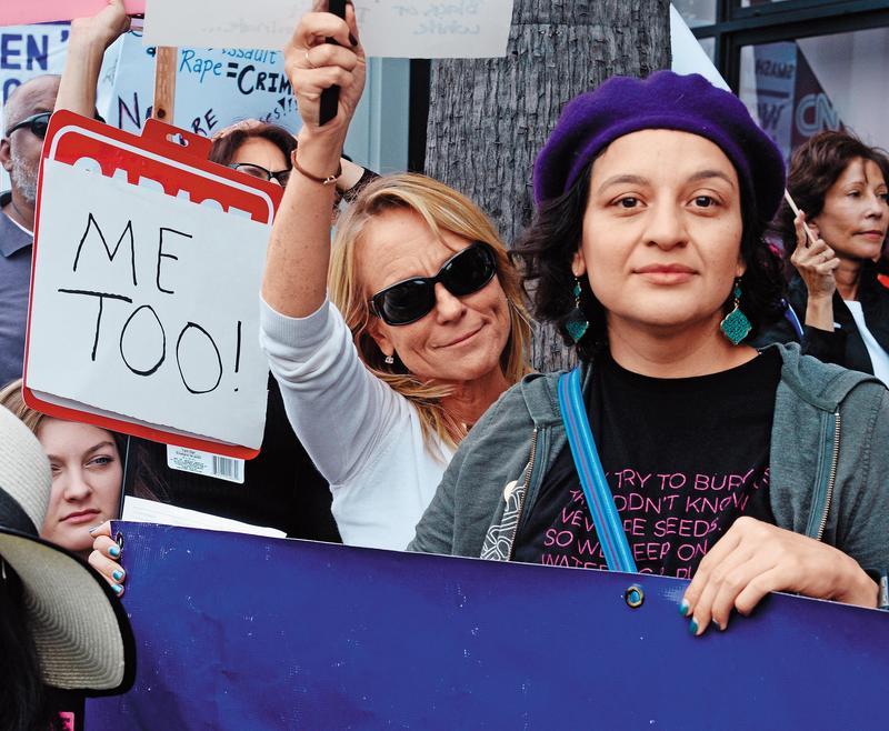 國外掀起的#ME TOO風潮,蔡總統也支持,並認為國內的性別教育需要再強化。(東方IC)